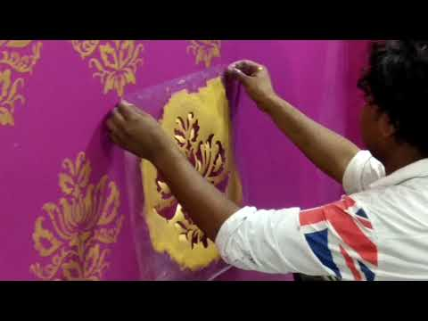 Asian paint's royal play stencil