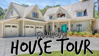 OUR COMPLETE FARMHOUSE HOUSE TOUR 2019! EMMA AND ELLIE