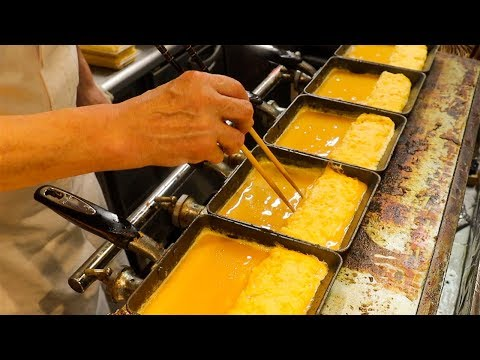 TMAGOYAKI Bread | JAPANESE OMELETTE Sandwich | Japan Street food | Nishiki Market Kyoto