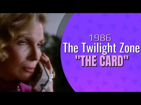 "Twilight Zone ""The Card"""
