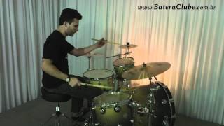 "Krest Fusion Splash 10"" - BATERACLUBE.com.br"