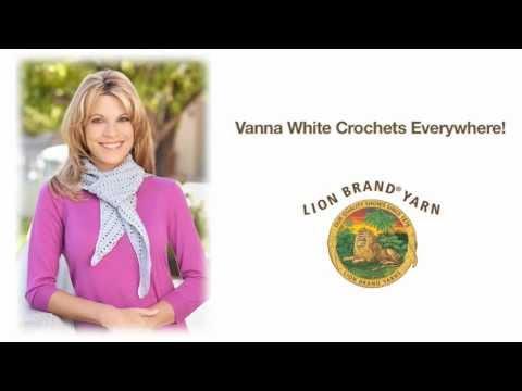 Vanna White Crochets Everywhere Youtube