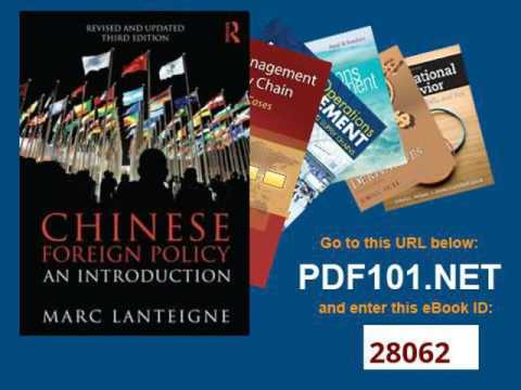 Chinese Foreign Policy An Introduction