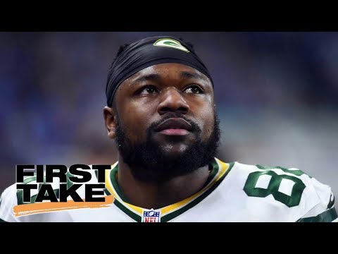 Green Bay Packers' Ty Montgomery Joins First Take | First Take | May 30, 2017
