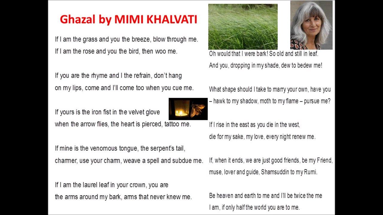 ghazal by khalvati Buy my revision guides: gcse english language paperback   gcse english language ebook  .