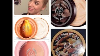 The Body Shop | Haul / Mini Reviews...Mainly Body Butters! Thumbnail