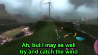 Donovan Leitch - Catch The Wind (lyrics)