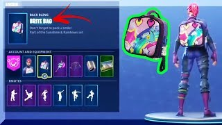 "How To Actually UNLOCK SECRET RARE ""Brite Bag"" On Fortnite Battle Royale! (Must Watch)"