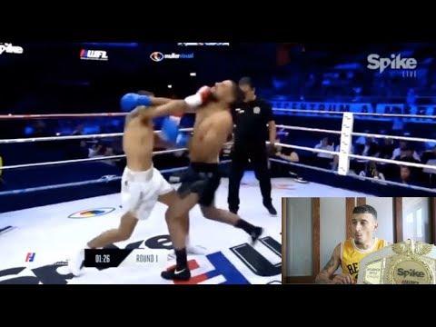 REAGEREN OP NESIM VS ANOUAR FIGHT!!