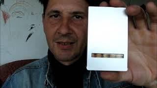 Обзор  портсигар в виде пачки сигарет