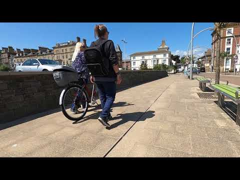 Ride To The Bike Shop Via The Beach (Lowestoft)
