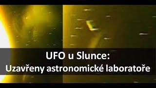 FBI zavřela astronomickou observatoř. U Slunce je flotila UFO!