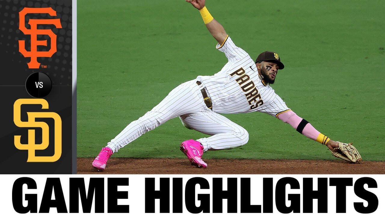 Download Giants vs. Padres Game Highlights (5/01/2021) | MLB Highlights