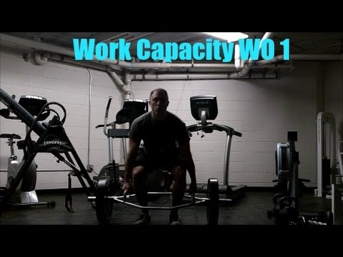 Work Capacity Workout #001