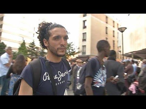 """Un sans-papier tunisien sacré """"héros d'Aubervilliers"""" - 12/06"""