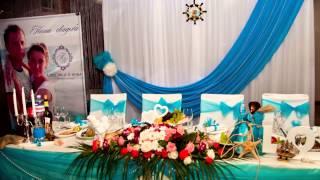 Декор. Морская свадьба.
