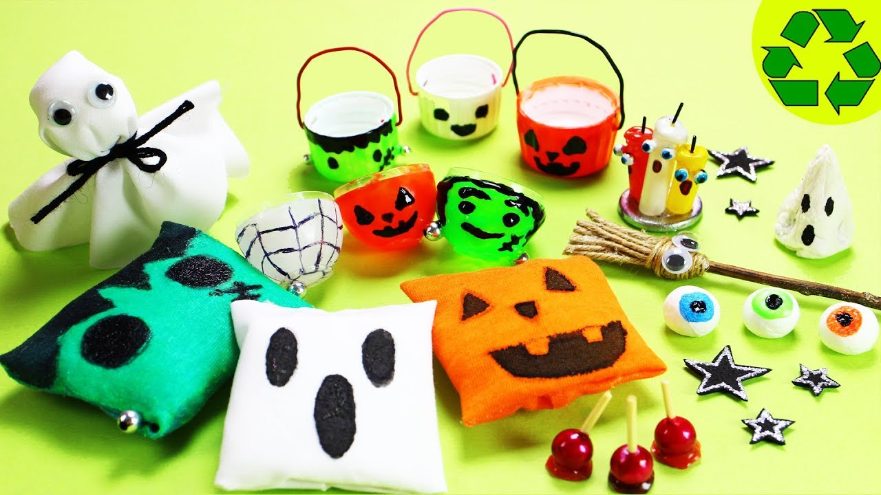 how to make halloween miniature decorations 1 10 easy diy miniature doll crafts