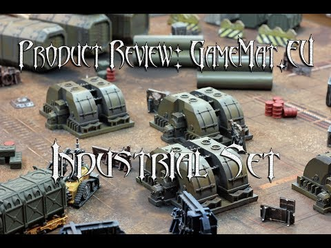 Product Review: GameMat.eu Industrial Set