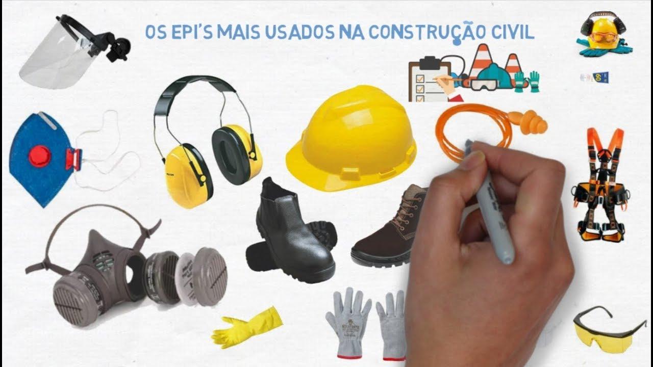 ccf2f252acbcd EPI MAIS USADOS NA CONSTRUÇÃO CIVIL - YouTube