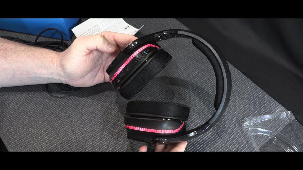 Logitech G933 Artemis Spectrum Wireless 7 1 Surround Sound Headset Unboxing