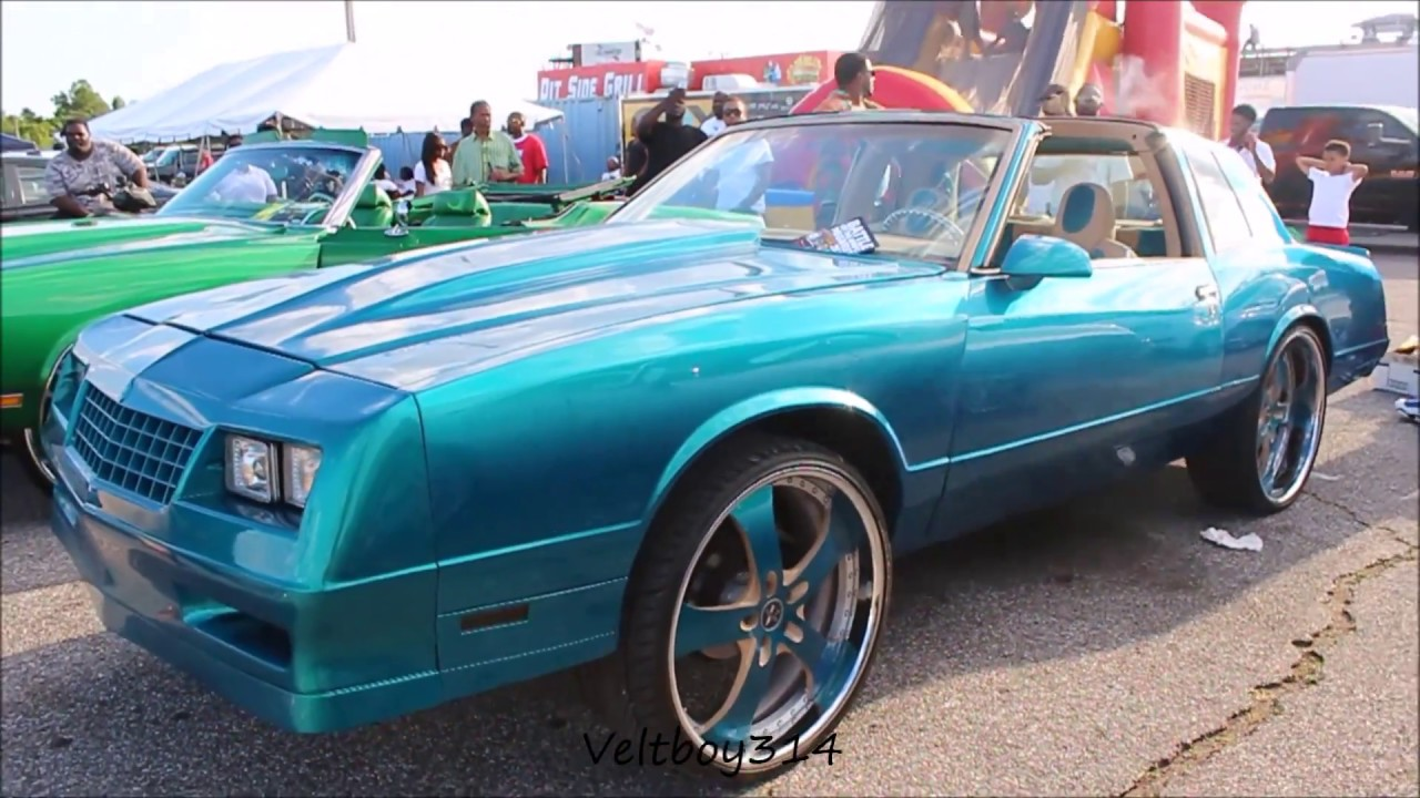 Candy Teal Aerocoupe Monte Carlo SS On 24