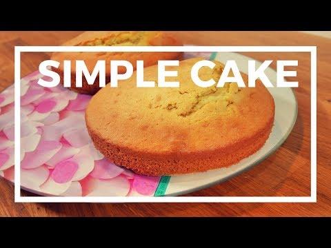comment-faire-un-gâteau-simple-pour-cake-design---diy-recette-de-cuisine-facile