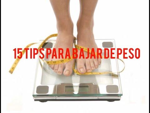 15 TIPS PARA BAJAR DE PESO. NUTRIVLOGS. NUTRITIPS. ASESORIA NUTRICIONAL