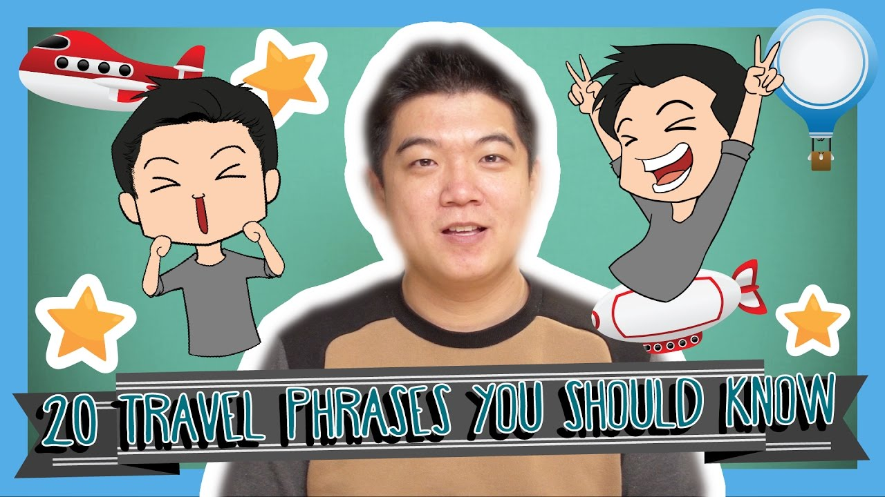 Learn The Top 20 Travel Phrases In Korean Korean Vocabulary Youtube
