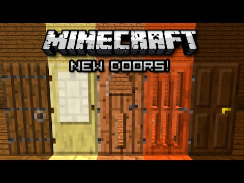 OPENING NEW DOORS IN MINECRAFT! & OPENING NEW DOORS IN MINECRAFT! - YouTube