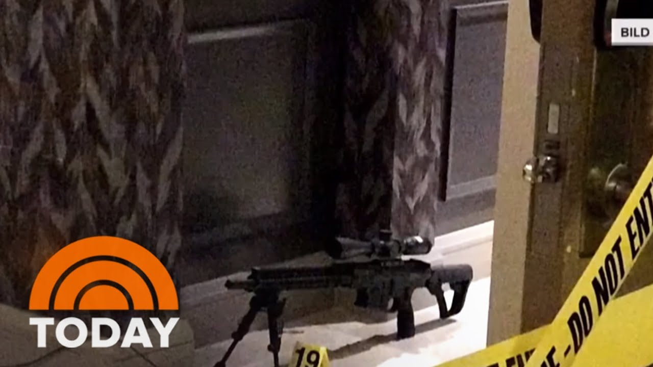 Las Vegas Shooter Stephen Paddock S Note In Hotel Room Is Under