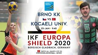 IKF ES 2020 Brno KK - Kocaeli University Sport Club