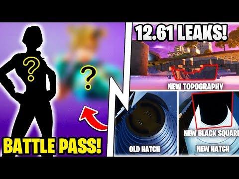 *NEW* BIG Update Tonight, Season 3 BATTLE PASS Skins, 12.61 Leaks!