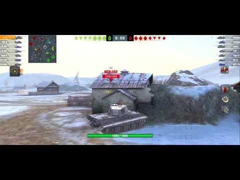 Исследование танка E 100 в WoTBlitz с нуля.