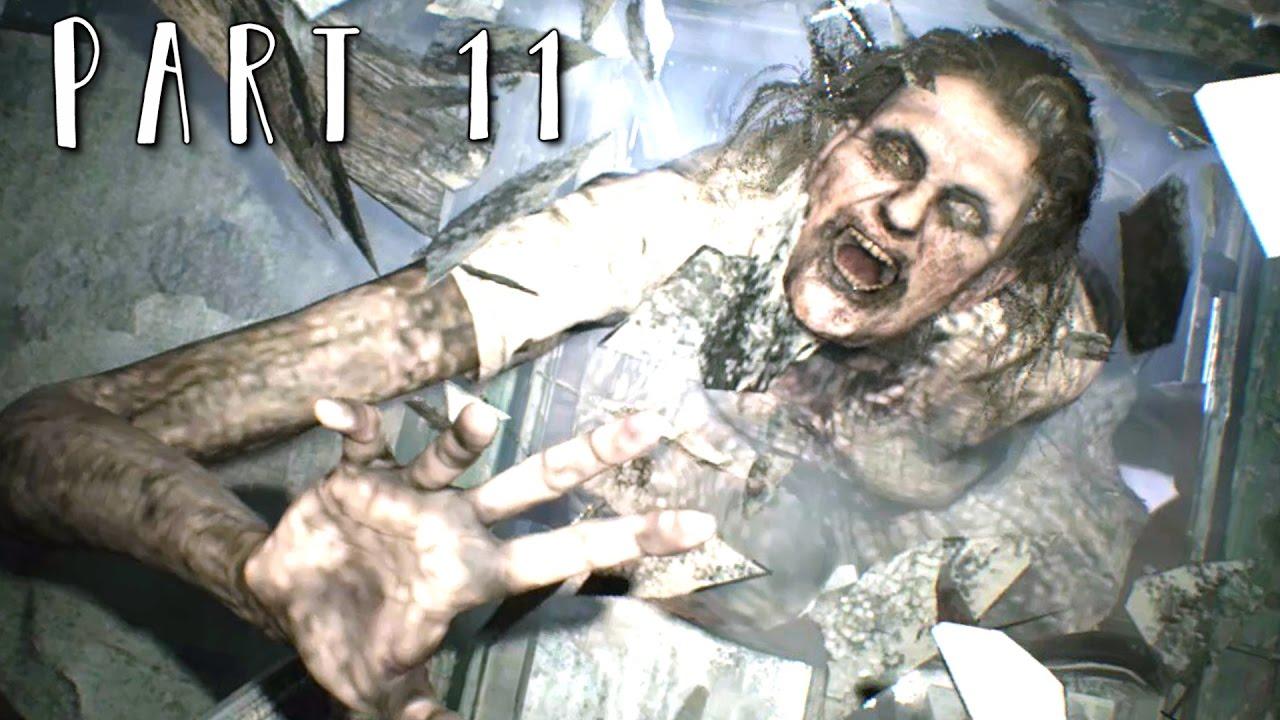 resident evil 7 marguerite boss fight