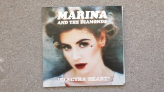 Marina and The Diamonds - Electra Heart 2xLP (Black) Unboxing