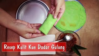 Resep Kulit Dadar Gulung - Step by Step | Dapur Sekilas Info