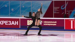 Аннабель Морозова Андрей Багин Произвольный танец Танцы Чемпионат России по фигурному катанию