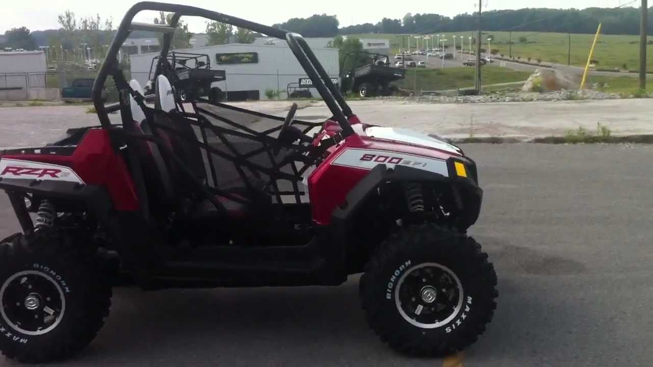 2011 polaris rzr s 800 sunset red le [ 1280 x 720 Pixel ]