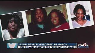 March quadruple murder remains unsolved