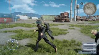 Final Fantasy XV playthrough pt145 - Military Scuffle/Need To Pass Time!