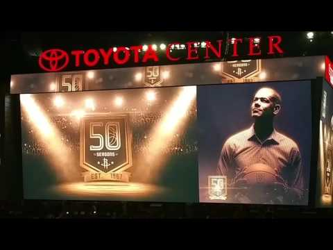 Houston Rockets Tribute to Shane Battier