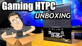 Unboxing Super High End Gaming HTPC by Puget Systems