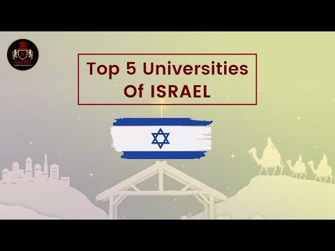 Top 5 Universities In Israel