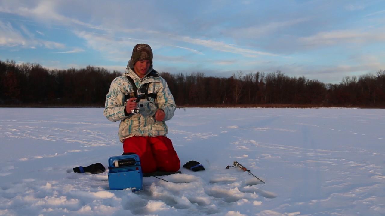 Michigan ice fishing report 2016 best fish 2017 for Ice fishing reports