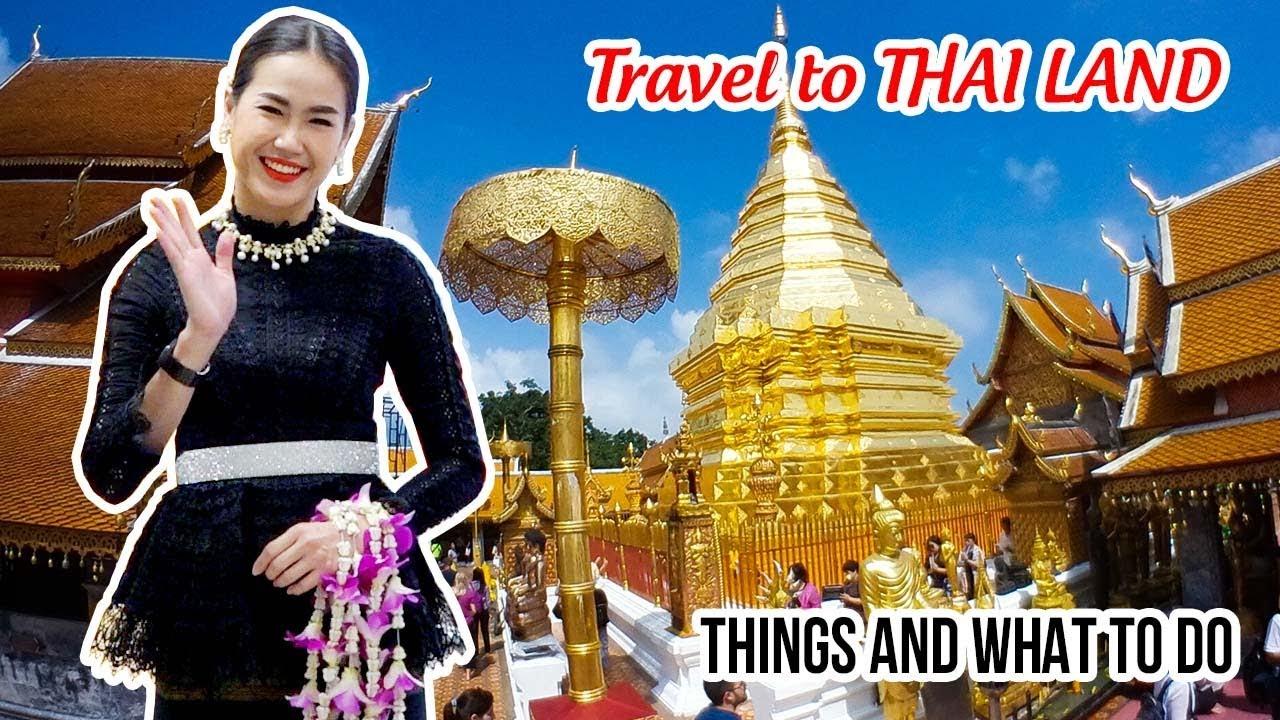 DU LỊCH THÁI LAN ▶ Trải nghiệm Cảnh đẹp, Ẩm thực, Địa điểm Du lịch, Chợ đêm tại Chiang Mai