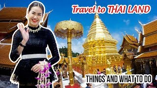 THAILAND TRAVEL CHEAP ▶ Experience Nice Places, Street Food, Night Market in Chiang Mai