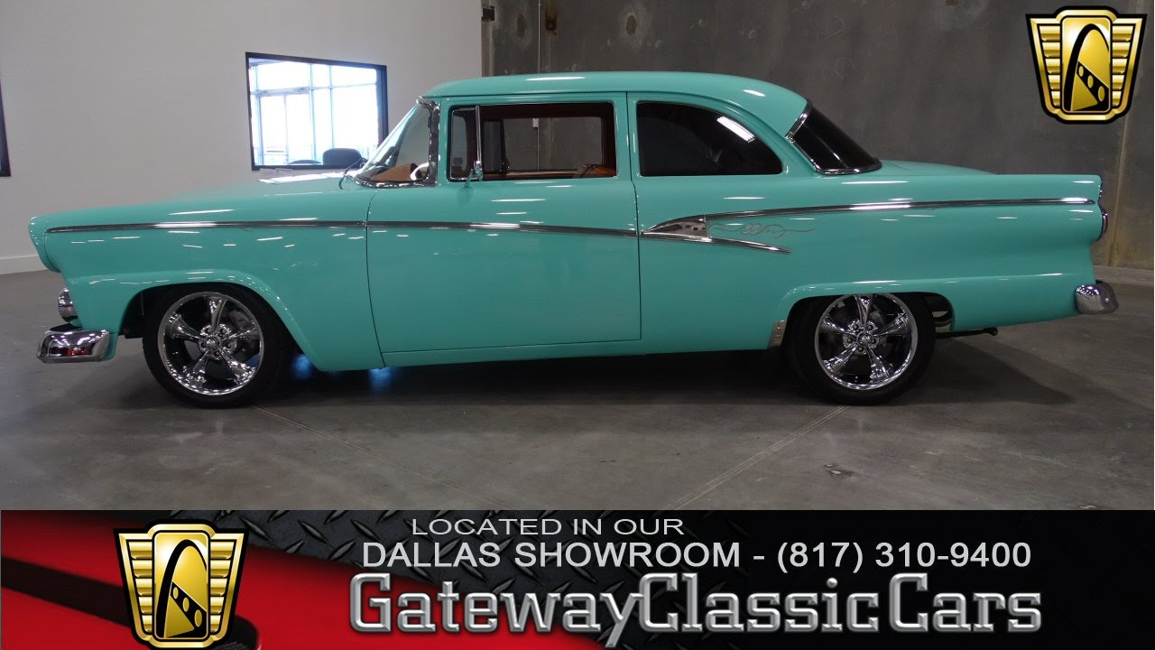 1956 Ford Coupe Stock 41 Gateway Classic Cars Dallas Showroom Youtube 1955 F100 Tubbed