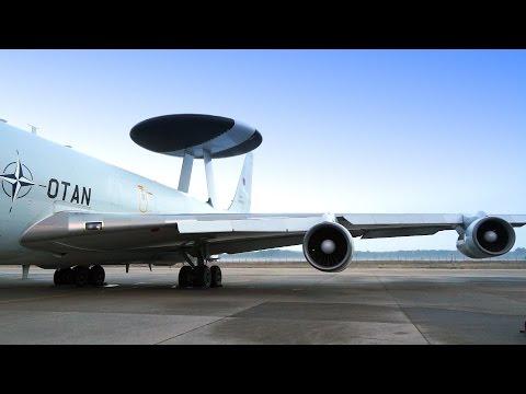 NATO Luftraumüberwachung: Im