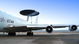 NATO Luftraumüberwachung: Im AWACS ins Baltikum