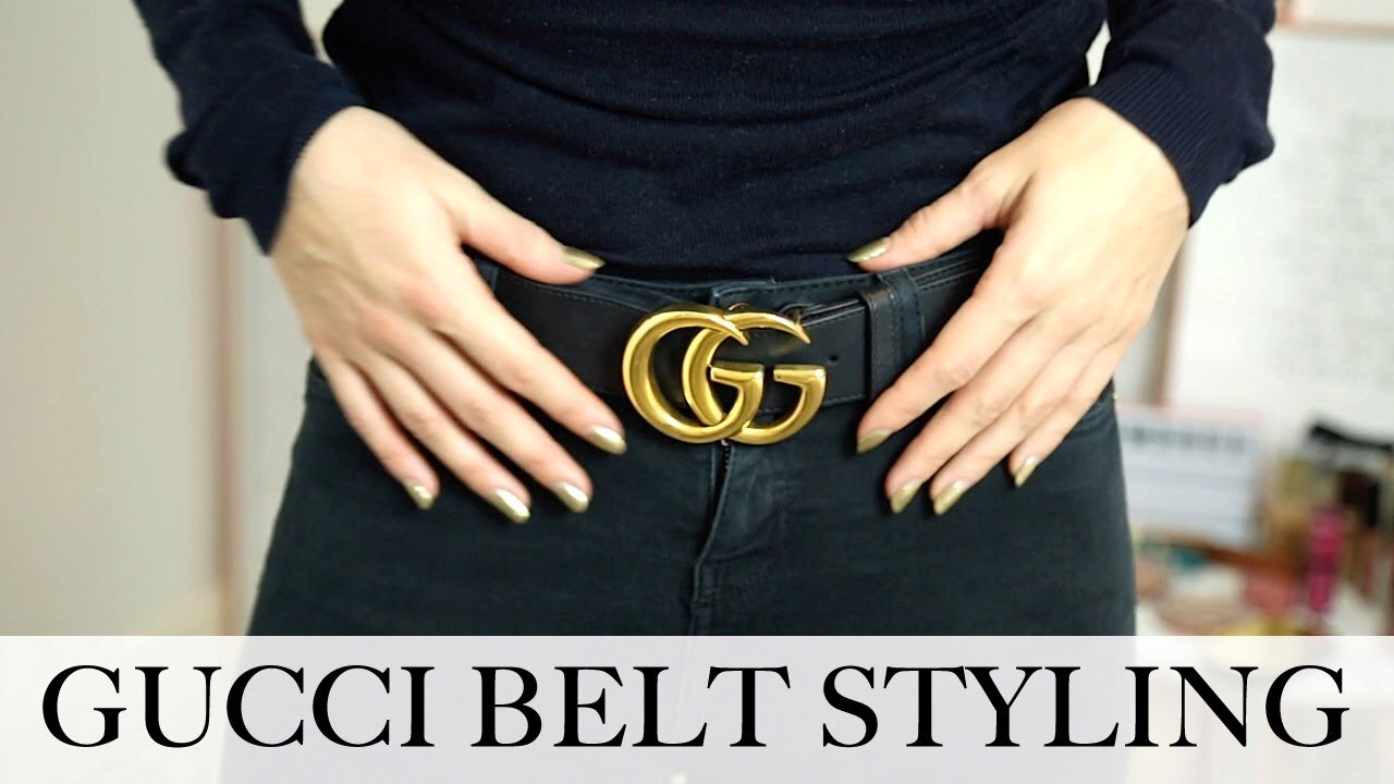 42c97a95aeb GUCCI BELT REVIEW   STYLING